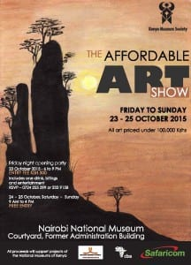 KMS Affordable Art Show poster
